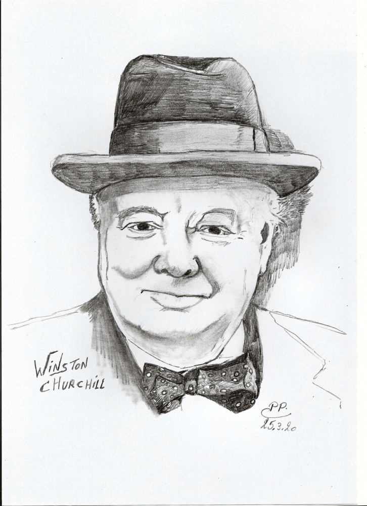 Winston Churchill by Patoux